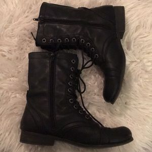 Steve Madden Shoes - Madden girl combat troopa bootie